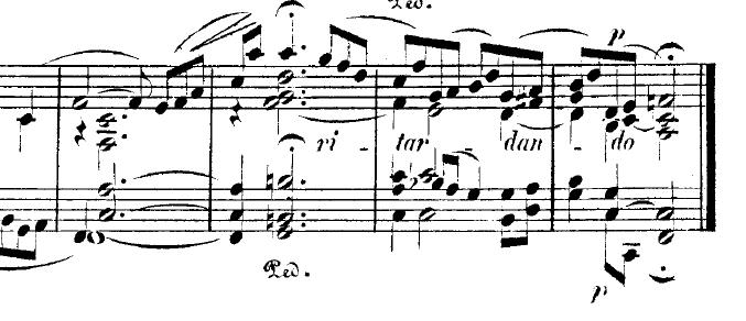 シューマン「トロイメライ」ヘ長調Op.15-7ピアノ楽譜7