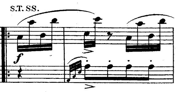 モーツァルト「ピアノソナタ第11番イ長調K.331第3楽章「トルコ行進曲」」ピアノ楽譜6