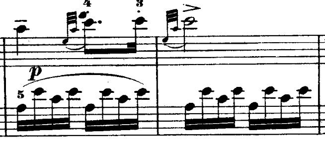 モーツァルト「ピアノソナタ第11番イ長調K.331第3楽章「トルコ行進曲」」ピアノ楽譜8