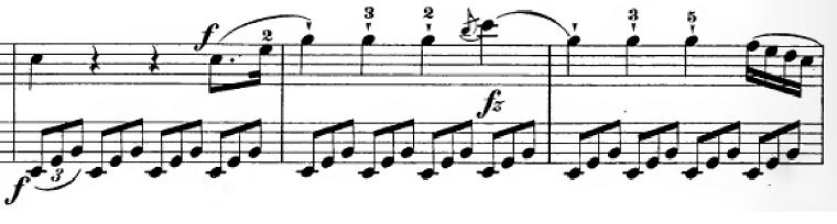 ハイドン「ピアノソナタ第35番ハ長調Hob.XVI:35,Op.30-1第1楽章」ピアノ楽譜2