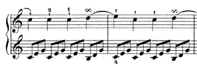 ハイドン「ピアノソナタ第35番ハ長調Hob.XVI:35,Op.30-1第1楽章」ピアノ楽譜3