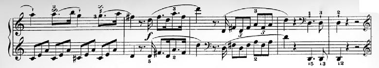 ハイドン「ピアノソナタ第35番ハ長調Hob.XVI:35,Op.30-1第1楽章」ピアノ楽譜4