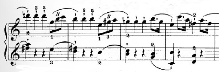 ハイドン「ピアノソナタ第35番ハ長調Hob.XVI:35,Op.30-1第1楽章」ピアノ楽譜6