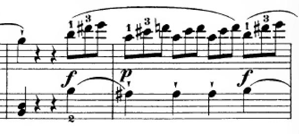 ハイドン「ピアノソナタ第35番ハ長調Hob.XVI:35,Op.30-1第1楽章」ピアノ楽譜7