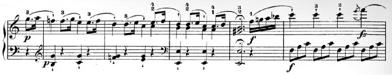 ハイドン「ピアノソナタ第35番ハ長調Hob.XVI:35,Op.30-1第1楽章」ピアノ楽譜8