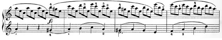 ハイドン「ピアノソナタ第35番ハ長調Hob.XVI:35,Op.30-1第1楽章」ピアノ楽譜10