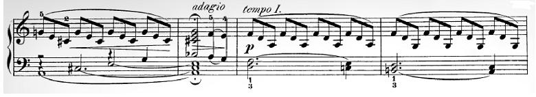 ハイドン「ピアノソナタ第35番ハ長調Hob.XVI:35,Op.30-1第1楽章」ピアノ楽譜12