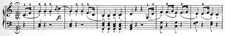 ハイドン「ピアノソナタ第35番ハ長調Hob.XVI:35,Op.30-1第1楽章」ピアノ楽譜13