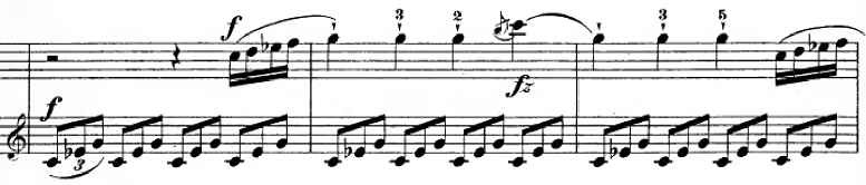 ハイドン「ピアノソナタ第35番ハ長調Hob.XVI:35,Op.30-1第1楽章」ピアノ楽譜14