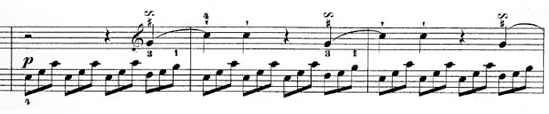 ハイドン「ピアノソナタ第35番ハ長調Hob.XVI:35,Op.30-1第1楽章」ピアノ楽譜15
