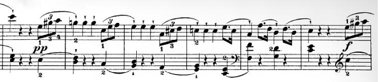 ハイドン「ピアノソナタ第35番ハ長調Hob.XVI:35,Op.30-1第1楽章」ピアノ楽譜16
