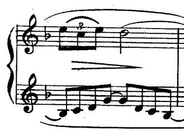 ドビュッシー「『夢(夢想)』ヘ長調L.68」ピアノ楽譜2