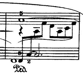 ドビュッシー「『夢(夢想)』ヘ長調L.68」ピアノ楽譜3