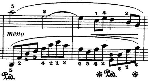 ドビュッシー「『夢(夢想)』ヘ長調L.68」ピアノ楽譜4