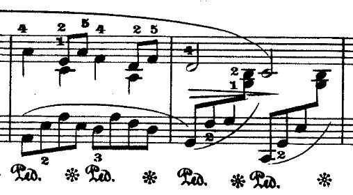ドビュッシー「『夢(夢想)』ヘ長調L.68」ピアノ楽譜5
