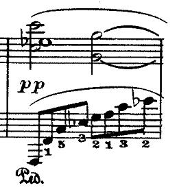 ドビュッシー「『夢(夢想)』ヘ長調L.68」ピアノ楽譜6