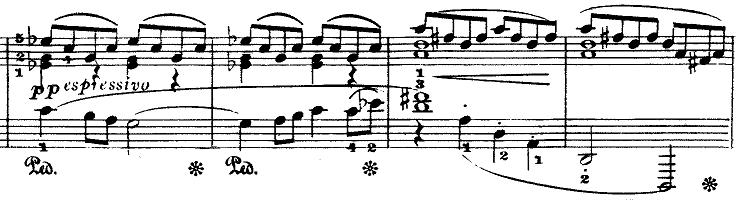 ドビュッシー「『夢(夢想)』ヘ長調L.68」ピアノ楽譜8