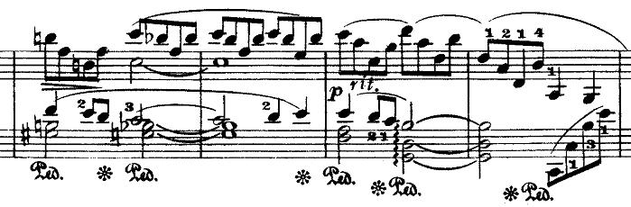 ドビュッシー「『夢(夢想)』ヘ長調L.68」ピアノ楽譜9