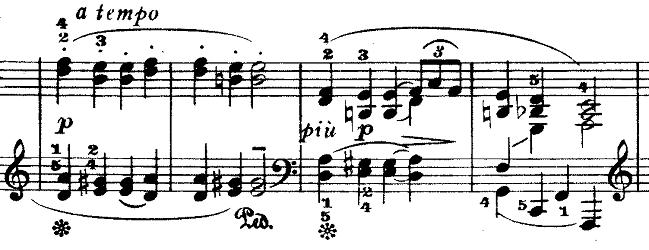 ドビュッシー「『夢(夢想)』ヘ長調L.68」ピアノ楽譜10