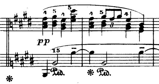 ドビュッシー「『夢(夢想)』ヘ長調L.68」ピアノ楽譜11