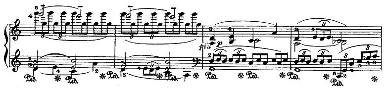 ドビュッシー「『夢(夢想)』ヘ長調L.68」ピアノ楽譜13