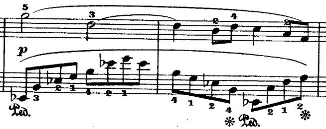 ドビュッシー「『夢(夢想)』ヘ長調L.68」ピアノ楽譜15