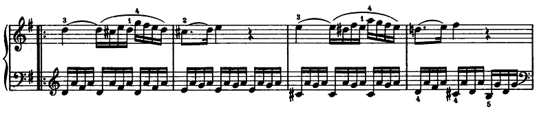 モーツァルト「ピアノソナタ第15(16)番ハ長調K.545第2楽章」ピアノ楽譜3