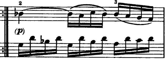モーツァルト「ピアノソナタ第15(16)番ハ長調K.545第2楽章」ピアノ楽譜5