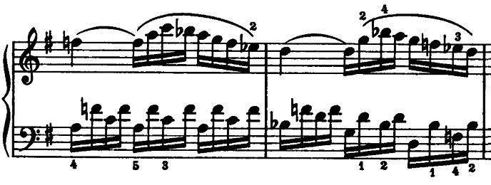 モーツァルト「ピアノソナタ第15(16)番ハ長調K.545第2楽章」ピアノ楽譜6