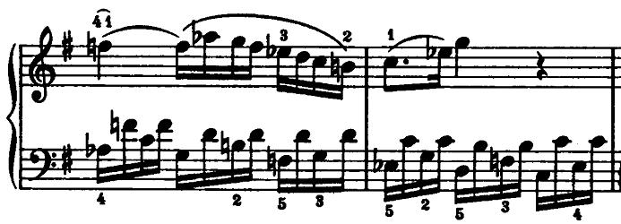 モーツァルト「ピアノソナタ第15(16)番ハ長調K.545第2楽章」ピアノ楽譜7