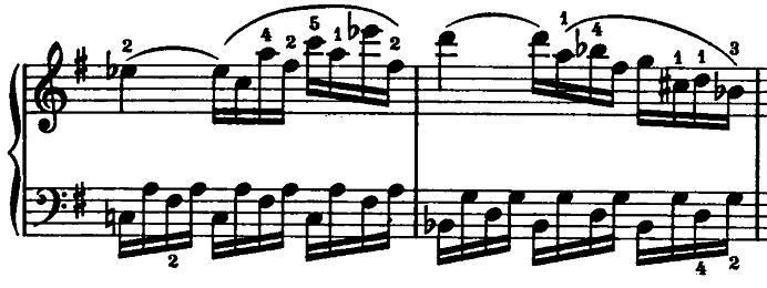 モーツァルト「ピアノソナタ第15(16)番ハ長調K.545第2楽章」ピアノ楽譜8