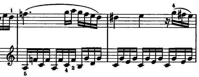 モーツァルト「ピアノソナタ第15(16)番ハ長調K.545第2楽章」ピアノ楽譜9