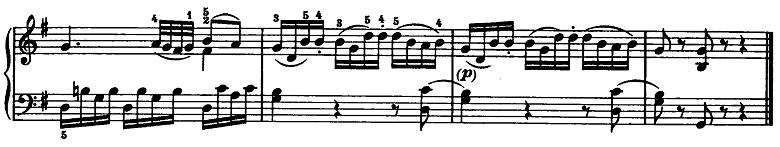 モーツァルト「ピアノソナタ第15(16)番ハ長調K.545第2楽章」ピアノ楽譜10