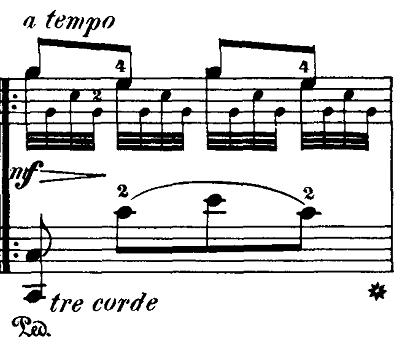 ブルグミュラー「18の練習曲第5番「泉」ト長調Op.109-5」ピアノ楽譜3