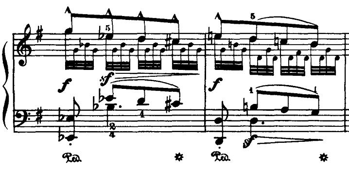ブルグミュラー「18の練習曲第5番「泉」ト長調Op.109-5」ピアノ楽譜4
