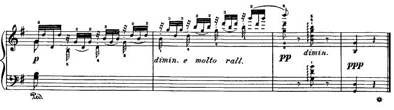 ブルグミュラー「18の練習曲第5番「泉」ト長調Op.109-5」ピアノ楽譜6