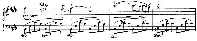 ショパン「ノクターン第20番嬰ハ短調遺作」ピアノ楽譜2