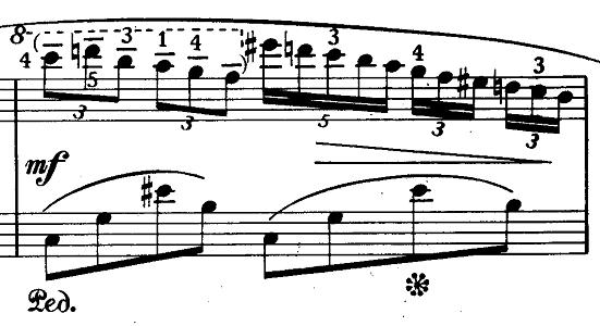 ショパン「ノクターン第20番嬰ハ短調遺作」ピアノ楽譜3