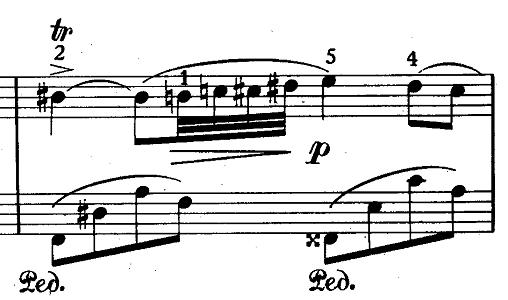 ショパン「ノクターン第20番嬰ハ短調遺作」ピアノ楽譜4