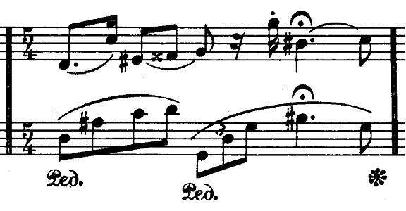 ショパン「ノクターン第20番嬰ハ短調遺作」ピアノ楽譜6