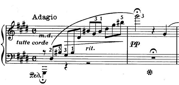 ショパン「ノクターン第20番嬰ハ短調遺作」ピアノ楽譜9