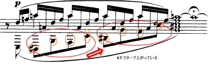 シューマン「アレグロ」Op.8ピアノ楽譜3