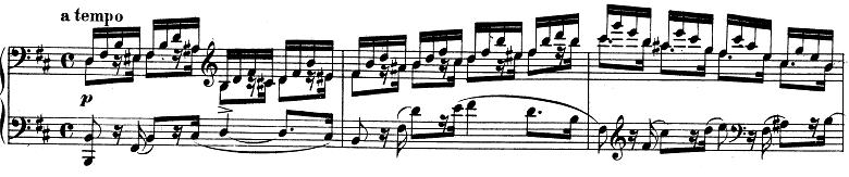 シューマン「アレグロ」Op.8ピアノ楽譜5