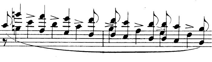 シューマン「アレグロ」Op.8ピアノ楽譜8
