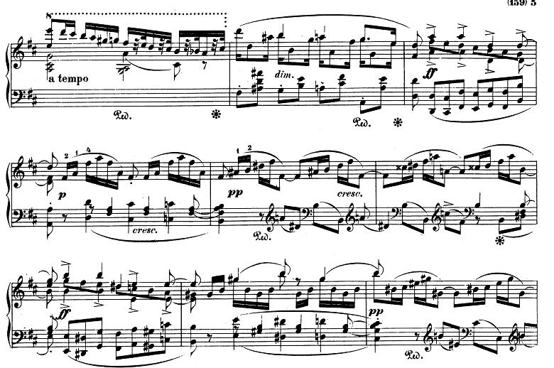 シューマン「アレグロ」Op.8ピアノ楽譜12