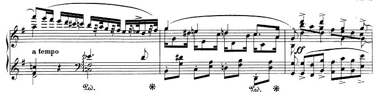 シューマン「アレグロ」Op.8ピアノ楽譜11