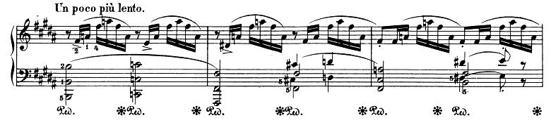 シューマン「アレグロ」Op.8ピアノ楽譜19