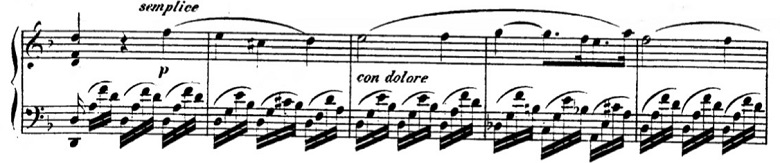 タールベルク「ロッシーニの歌劇『エジプトのモーゼ』による大幻想曲ト短調Op.33」すこし動きが出てきたところのピアノ楽譜