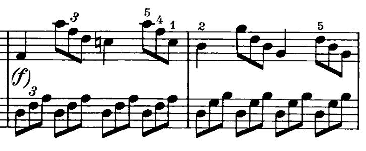 ベートーヴェン「ピアノソナタ第20番ト長調Op.49-2第1楽章」ピアノ楽譜3