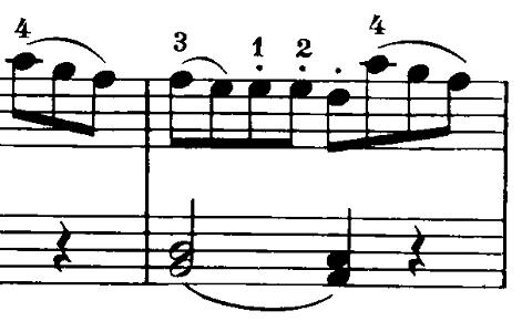 ベートーヴェン「ピアノソナタ第20番ト長調Op.49-2第1楽章」ピアノ楽譜5